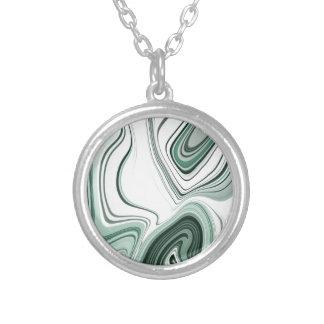 Conception verte audacieuse d'effet de pierre collier