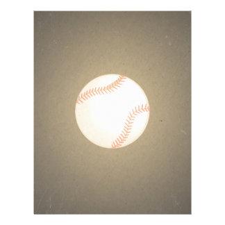 Conception vintage de base-ball. Motif de sport Tract Personnalisé