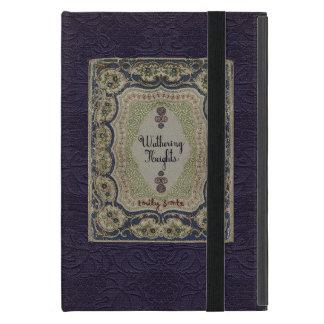 Conception vintage de livre des Hauts de Hurlevent Étui iPad Mini