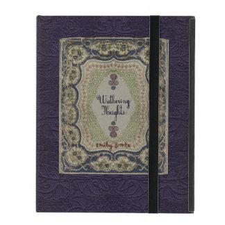 Conception vintage de livre des Hauts de Hurlevent Étuis iPad