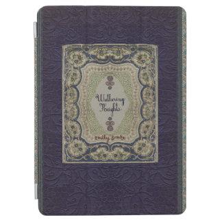 Conception vintage de livre des Hauts de Hurlevent Protection iPad Air