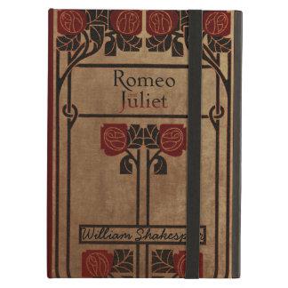 Conception vintage Romeo et Juliet de livre Étui iPad Air