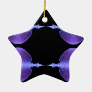 Conceptions artistiques de méduses élogieuses ornement étoile en céramique