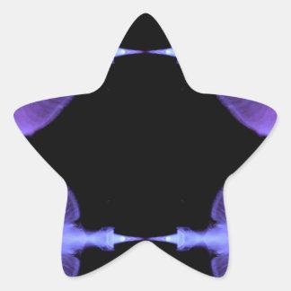 Conceptions artistiques de méduses élogieuses sticker étoile
