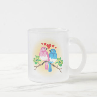 Conceptions d'amour pour des occasions spéciales mug en verre givré