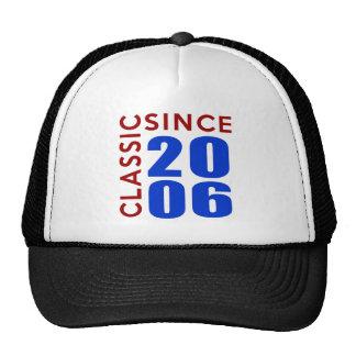 Conceptions d'anniversaire de Classice depuis 2006 Casquettes De Camionneur