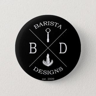 Conceptions de barman badge