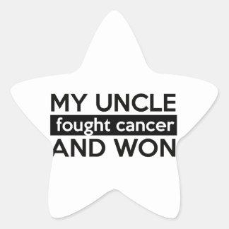 Conceptions de Cancer Sticker Étoile