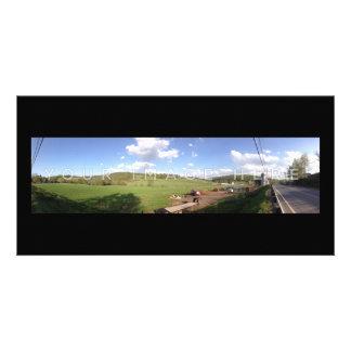 Conceptions de carte photo panoramiques