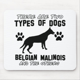 Conceptions de chien de Malinois de Belge Tapis De Souris