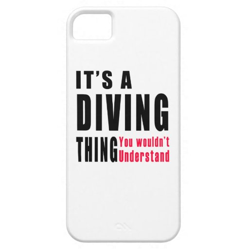 Conceptions de chose de plongée étui iPhone 5