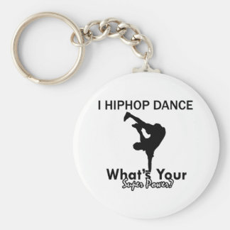 Conceptions de danse de hip hop porte-clé