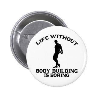 CONCEPTIONS de musculation Badges