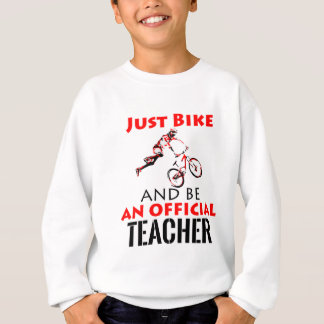 Conceptions de PROFESSEUR Sweatshirt