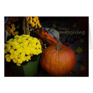 Conceptions de thanksgiving - cartes de voeux
