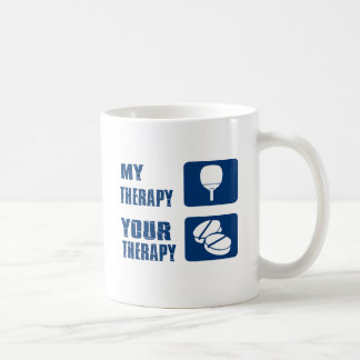 conceptions de thérapie de ping-pong mug