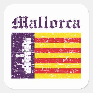 Conceptions de ville de Majorque Sticker Carré