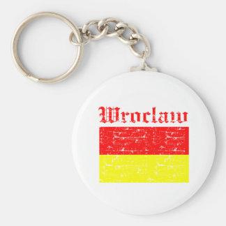 Conceptions de ville de Wroclaw Porte-clés