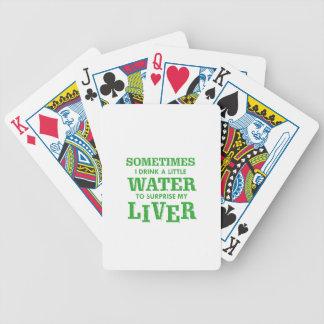 Conceptions drôles de foie jeu de cartes