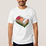 conceptions drôles mignonnes de T-shirt d'hommes