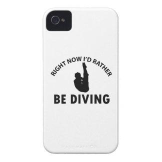 Conceptions fraîches de plongée coque iPhone 4 Case-Mate