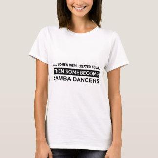 Conceptions fraîches de samba t-shirt