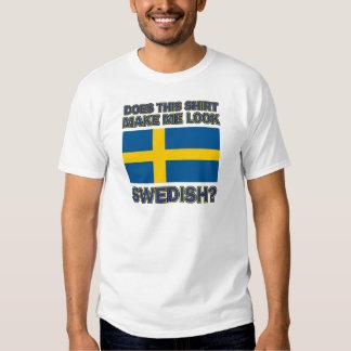 Conceptions fraîches de Suédois T-shirt
