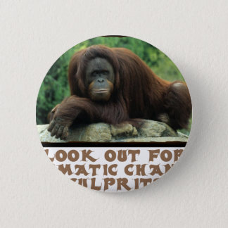 conceptions fraîches d'orang-outan pin's