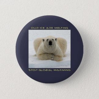 conceptions fraîches d'OURS BLANC ET de Badges