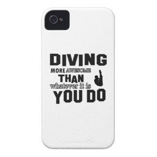 Conceptions impressionnantes de plongée coque iPhone 4 Case-Mate