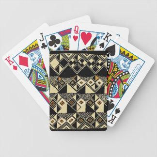 Conceptions inspirées par Kuba d'Africain Jeu De Poker