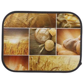 Concepts de Wheat.Harvest. Collage de céréale Tapis De Voiture