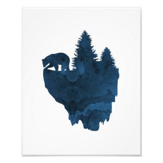 Concernez une île de flottement impression photo