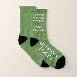 Concevez vos propres petites chaussettes VERTES