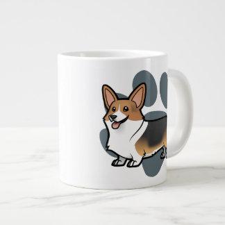 Concevez votre propre animal familier mug jumbo