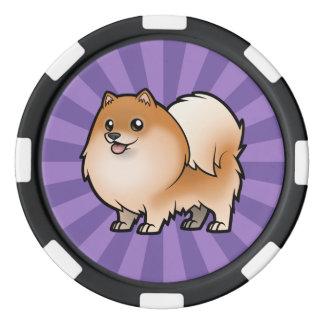 Concevez votre propre animal familier rouleau de jetons de poker