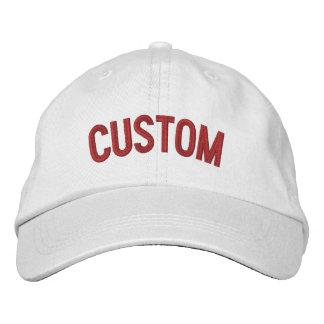 Concevez votre propre casquette brodé casquette brodée