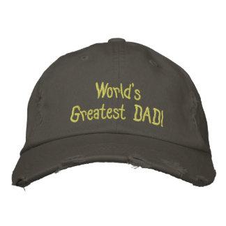 Concevez votre propre casquette détruit par casquette brodée