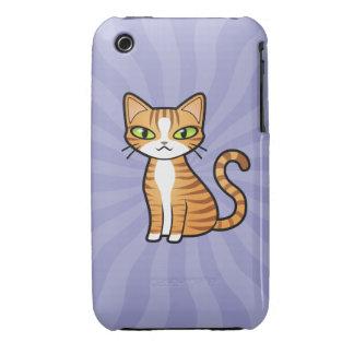 Concevez votre propre chat de bande dessinée coque iPhone 3
