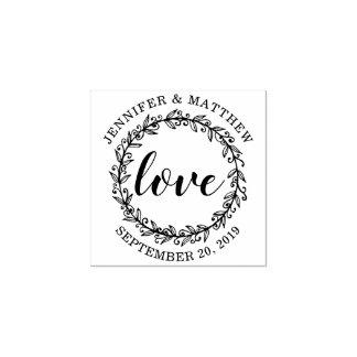 Concevez votre propre mariage botanique d'amour de