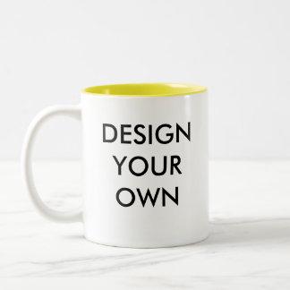 Concevez votre propre tasse à deux tons