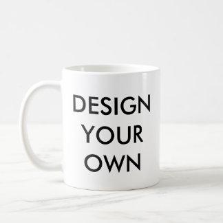 Concevez votre propre tasse blanche personnalisée