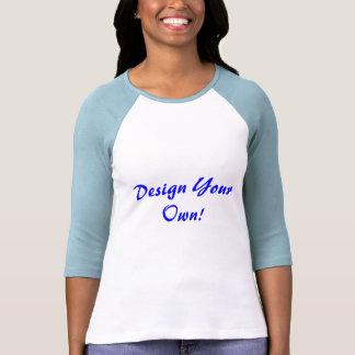 Concevez votre propres blanc et bleus layette t-shirt