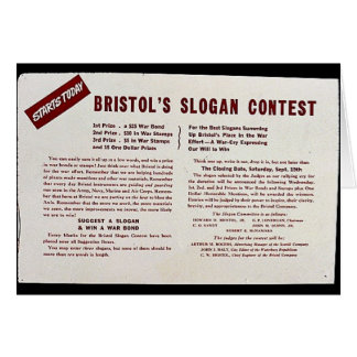 Concours du slogan de Bristol Cartes