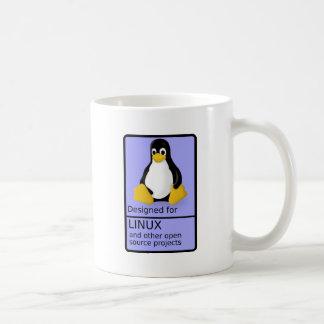 Conçu pour Linux Mug Blanc