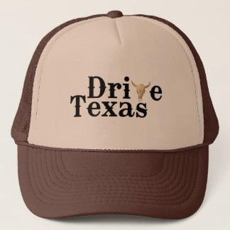 Conduisez le casquette du Texas Brown