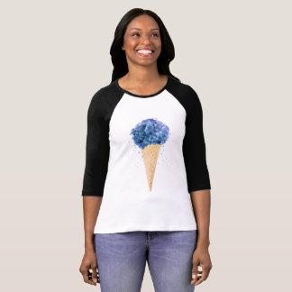 Cône de fleur t-shirt