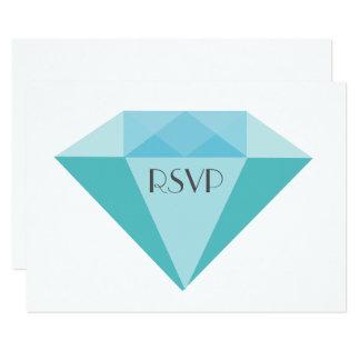 Confettis colorés de diamants épousant la CARTE de