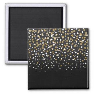 Confettis girly assez modernes de scintillement aimant