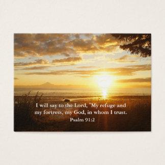 Confiance dans le seigneur Christian Inspiration Cartes De Visite